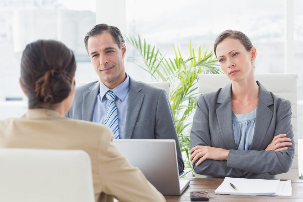clients meeting up with attorney